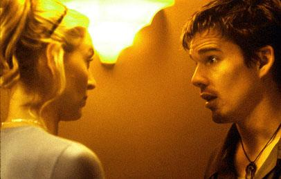 Uma Thurman and Ethan Hawke in Lions Gate's Tape