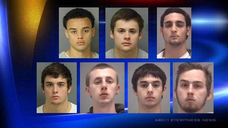 Seven students face drug charges in Cary and Apex
