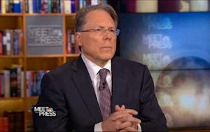 NRA CEO Wayne LaPierre Still Thinks Guns Aren't the Problem
