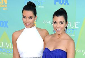 "Kim Kardashian ""So Excited"" For Sister Kourtney's Second Pregnancy"