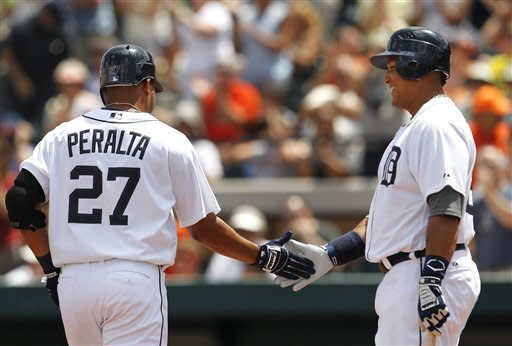Peralta has 3 RBIs and Tigers top Astros