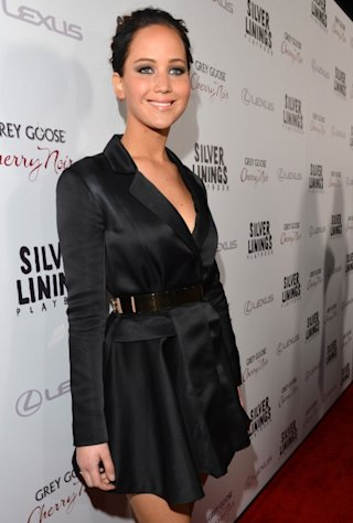 Jennifer Lawrence attends the 'Silver Linings Playbook' Los Angeles special screening at the Academy of Motion Picture Arts and Sciences in Beverly Hills, Calif. on November 19, 2012 -- Getty Premium