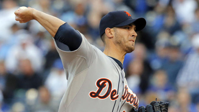 Porcello pitches Tigers to 8-2 win over Royals