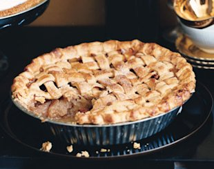 Lattice Apple Pie with Mexican Brown Sugar. Photo by Ditte Isager