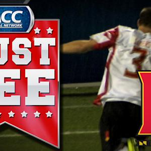 Maryland's Michael Sauers Scores With 13 Seconds Remaining In Overtime | ACC Must See Moment