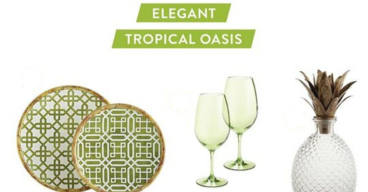 Create a Tropical Oasis With Pier 1 Imports