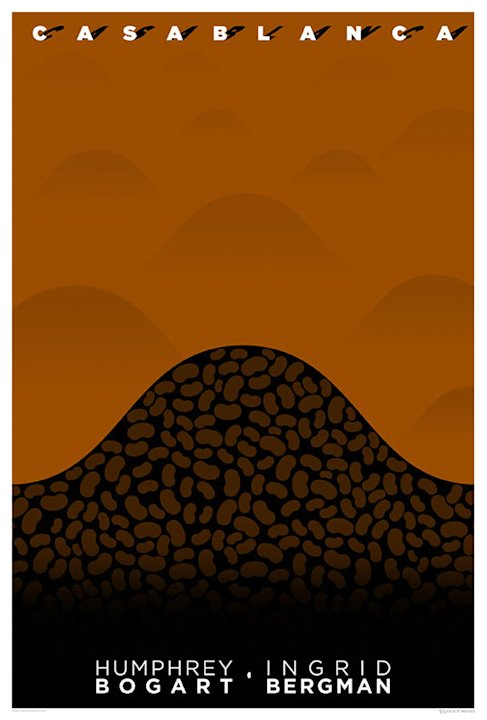 Minimalist Romantic Movie Posters 2011