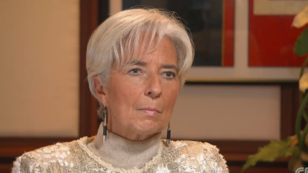 Christine Lagarde Is Pretty Worried About This Fiscal Cliff