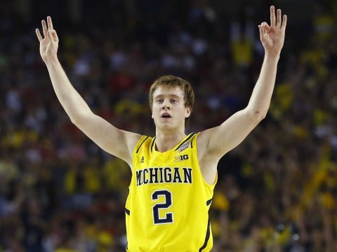 Michigan basketball player Spike Albrecht