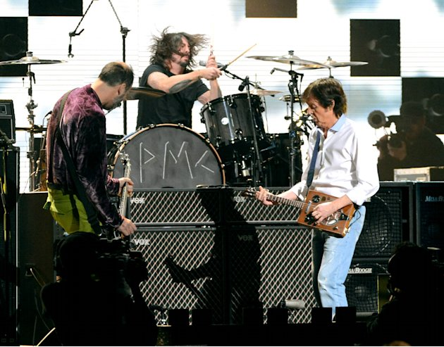 Krist Novoselic, Dave Grohl, Sir Paul McCartney