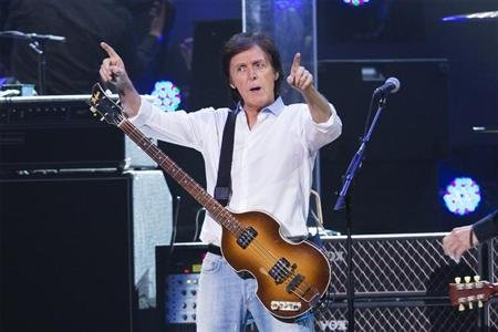 Paul McCartney tops Bonnaroo music festival lineup