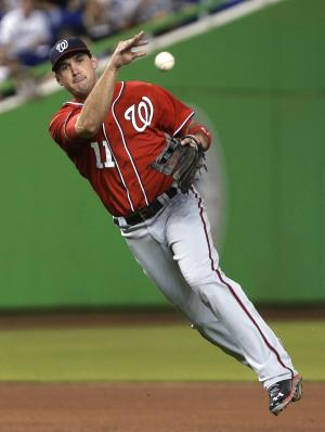 Zimmerman-at-first a new look for Nationals
