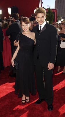 Marla Sokoloff and James Franco Emmy Awards - 9/22/2002