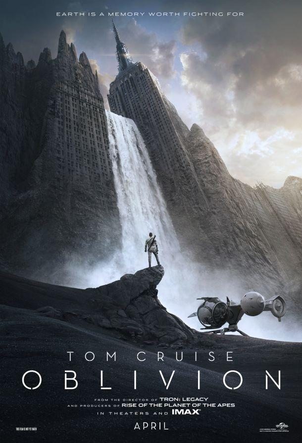 Tom Cruise Prepares to Fight for Earth in First 'Oblivion' Poster