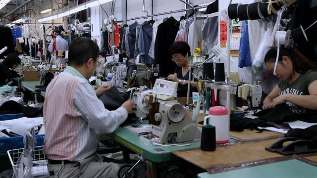 Bringing garment production back to U.S.