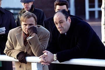 Joe Pantoliano and James Gandolfini in HBO's The Sopranos