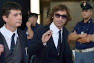 Italy playmaker Andrea Pirlo arrives with his team from Kiev at Rome's Fiumicino airport on June 2. Bayern Munich on Monday dismissed speculation they are about to sign Andrea Pirlo from Juventus