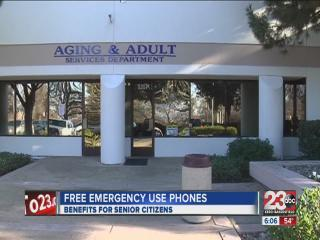 Free cell phones for emergency use