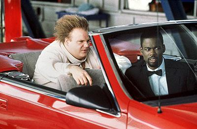 Chris Farley and Chris Rock in Beverly Hills Ninja