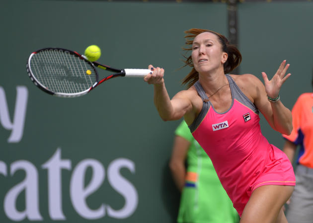 Djokovic, Jankovic win at Indian Wells