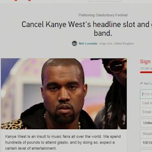 Petition to ban Kanye West from U.K. festival gaining traction