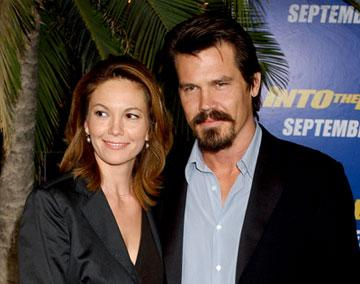 Diane Lane and Josh Brolin at the Westwood premiere of MGM/Columbia Pictures' Into the Blue