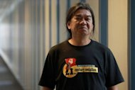 Leung Kwok-hung, seen here in April, has cut a defiant figure in the Asian financial centre's legislative assembly since winning a seat representing Hong Kong's gritty New Territories East electorate in 2004