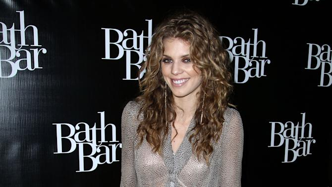 Actress AnnaLynne McCord attends the Bath Bar by Kristina Vogel Flagship Store Grand Opening launch party on Saturday, Dec. 1, 2012, in Hermosa Beach, Calif. (Photo by Matt Sayles/Invision for BathBar.com/AP Images)