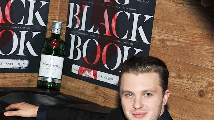 Michael Pitt attends Esquire's 5th Celebration Of Big Black Book With Tanqueray at Darby Downstairs on October 26, 2011 in New York City.