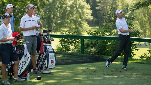 PGA Professionals fit in with best at Oak Hill