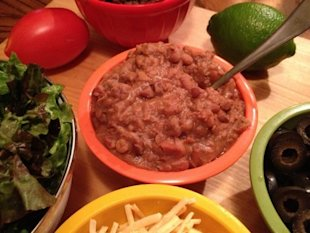 Slow-Cooker Re-Fried Beans