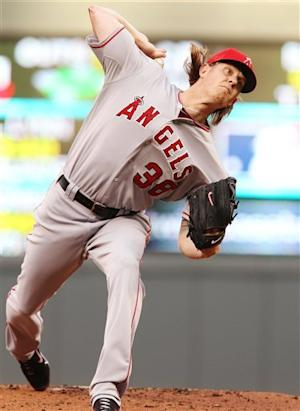 Weaver goes 6 to help Angels to 8-3 win over Twins