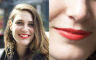 Brights lips are so in this season. Take a page from Anna's book for a wearable day look.