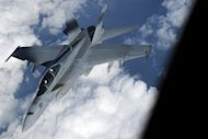 &lt;p&gt;A US Navy FA-18 Super Hornet disconnects from a refuelling tanker during US-Japan military exercise above the South China sea on December 9, 2010. US and Japanese fighter jets have carried out joint air exercises, days after Chinese and Japanese military planes shadowed each other near disputed islands in the East China Sea.&lt;/p&gt;