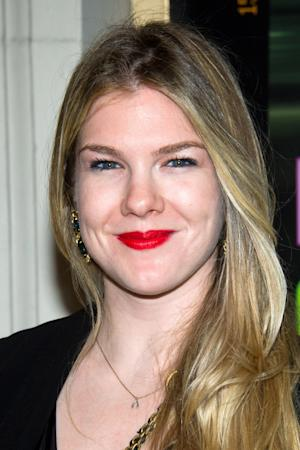 "FILE - In this April 11, 2011 file photo, actress Lily Rabe is shown in New York. Rabe and Hamish Linklater will star opposite Alan Rickman in Theresa Rebeck's new play ""Seminar,"" opening Nov. 20 at The Golden Theatre in New York. (AP Photo/Charles Sykes, file)"