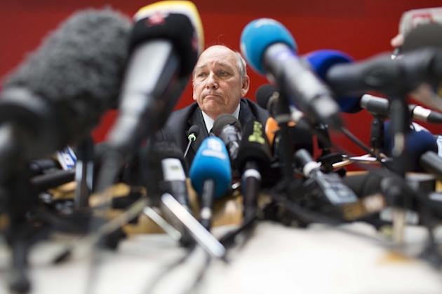 French Police Hold Press Conference On Schumacher Accident