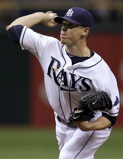 Hellickson, Zobrist key Rays' win over the Angels