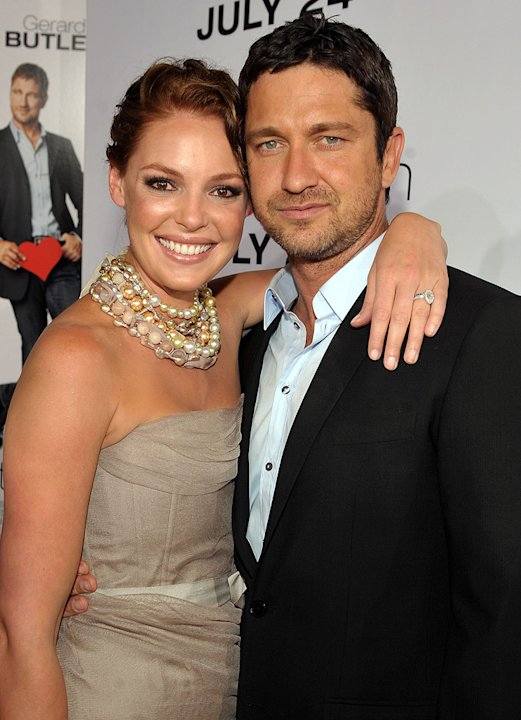 The Ugly Truth LA Premiere 2009 Katherine Heigl Gerard Butler