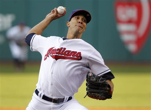 Indians pound Mariners' Hernandez in 9-3 win