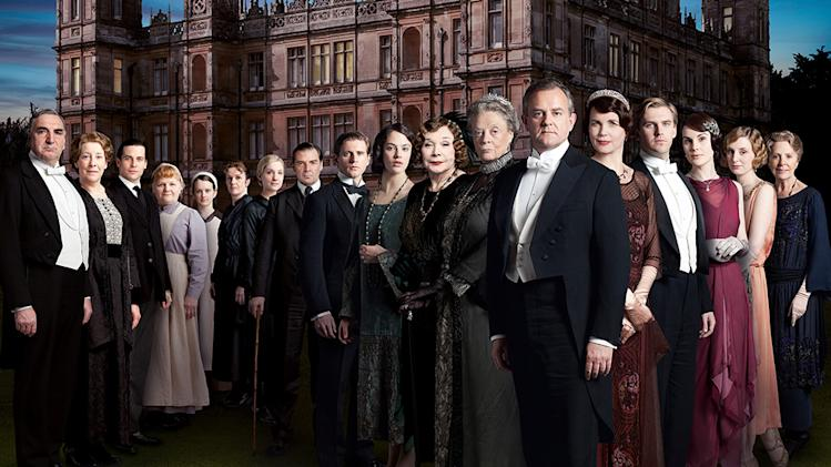 13. Downton Abbey returns