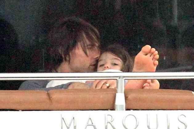 Tom Cruise Suri Miami Beach