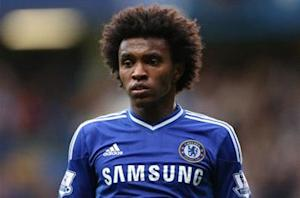 Willian: Chelsea stars hugged me after Brazil call-up