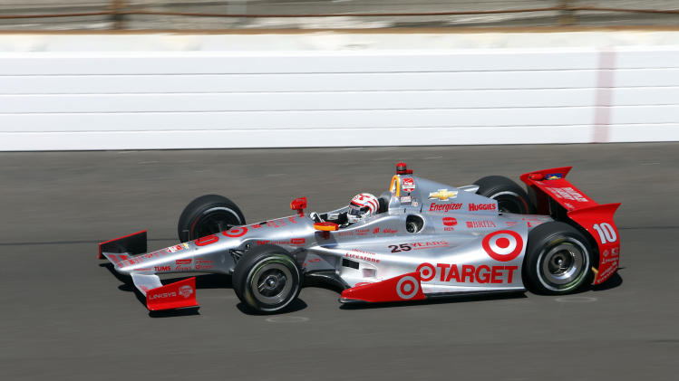 Kanaan's problems return at Indianapolis 500