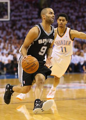 Spurs' Parker plans to play in NBA Finals Game 1