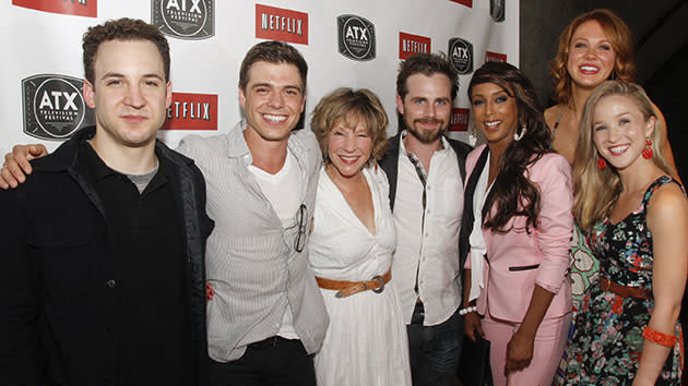 "The cast of ""Boy Meets World"" at the 2013 ATX Television Festival."