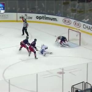 Henrik Lundqvist Save on David Desharnais (16:37/1st)