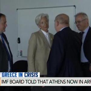 IMF Says Greece Failed to Make $1.7 Billion Payment