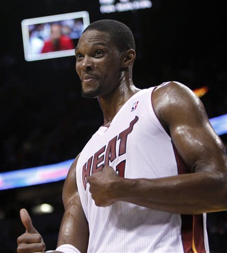 Heat shake off slow start, beat Hornets 109-95