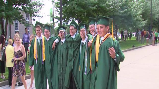 6pm: Strongsville High School graduation