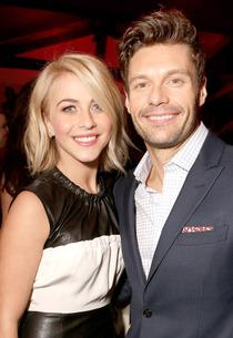 Julianne Hough, Ryan Seacrest | Photo Credits: Jeff Vespa/Getty Images